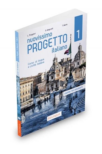 Nuovissimo Progetto italiano 1 – Quaderno degli esercizi dell'insegnante