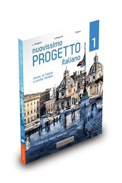 Nuovissimo Progetto italiano 1 – Quaderno degli esercizi (+ CD audio)