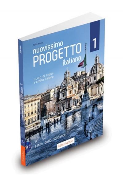 Nuovissimo Progetto italiano 1 - Libro dello studente (+ DVD Video)