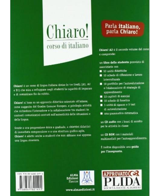Chiaro! A2. Con CD Audio. Con CD-ROM - Cinzia Cordera Alberti, Giulia De Savorgnani