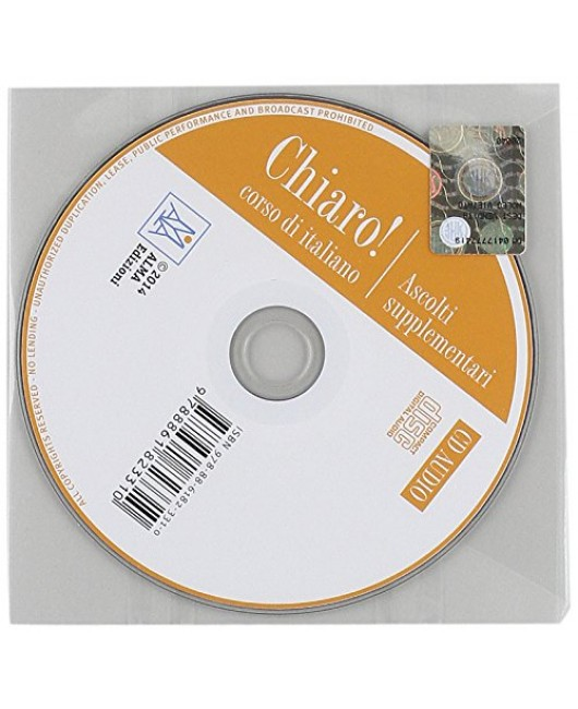 Chiaro! Ascolti supplementari. Livello A1-B1. Con CD Audio