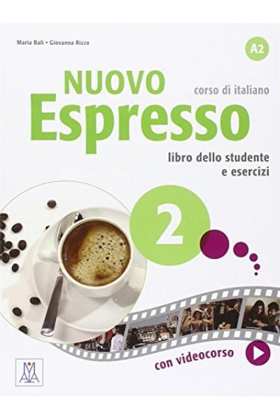 Nuovo espresso 2 Libro studente e libro esercizi:  Maria Balì,  Giovanna Rizzo - Alma