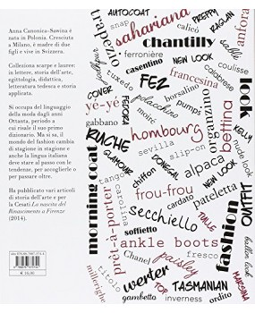 Le parole della moda. Piccolo dizionario dell'eleganza