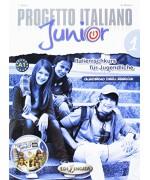 Progetto italiano junior 1 italien Cahier d'exercises