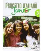 Progetto italiano junior. Vol. 3 deu. Con CD