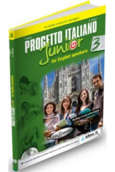 Progetto italiano junior. Vol. 3 English