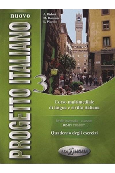Nuovo progetto italiano 3 . Quaderno degli esercizi
