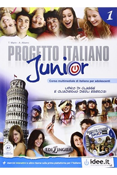 Progetto italiano junior. Libro dello studente. Con CD Audio: 1