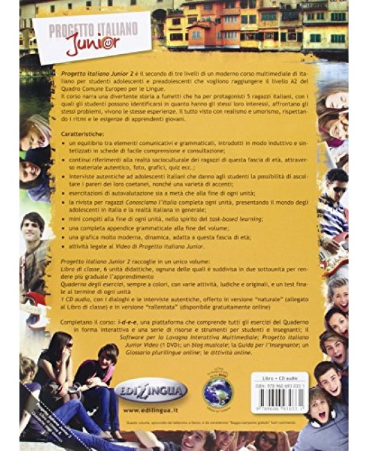 Progetto italiano junior 2  Libro dello studente. Con CD Audio