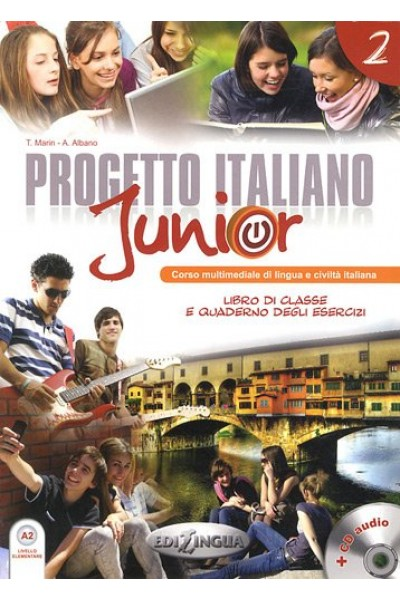 Progetto italiano junior 2  Libro dello studente. Con CD Audio