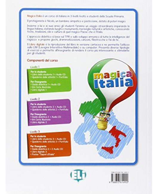 Magica Italia 2 Guida Per L'Insegnante + CD Audio