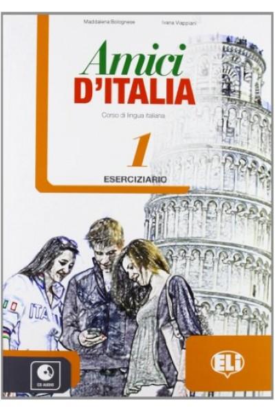 Amici d'Italia 1  Eserciziario - Elettra Ercolino, T. Anna Pellegrino