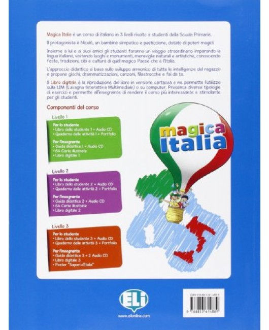 Magica Italia 2 . Libro studente. Con CD Audio