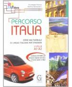 PERCORSO ITALIA A1-A2 con cd rom