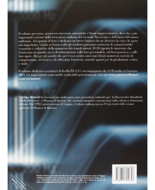 Voci di autori italiani. In interviste e brani scelti. Con CD Audio