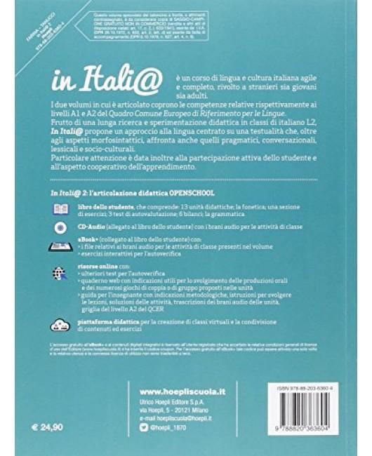 In Itali@. Livello A2. Corso di lingua e cultura italiana