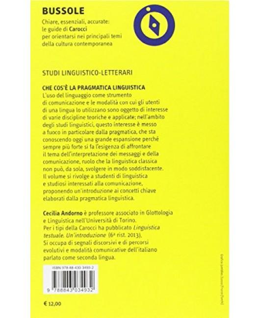 Che cos'è la pragmatica linguistica - Cecilia Andorno