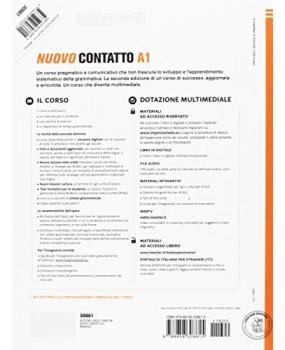 Nuovo contatto A1 Manuale - Corso di lingua e civiltà italiana per stranieri