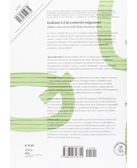 Italiano L2 in contesti migratori. Sillabo e descrittori dall'alfabetizzazione all'A1