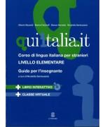 Qui Italia.it A1- A2 - Guida insegnante