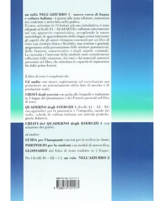 Un tuffo nell'azzurro. Nuovo corso di italiano per stranieri: 1
