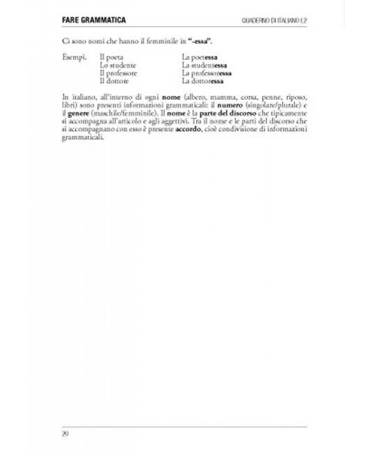 Fare grammatica. Quaderno di italiano L2 da livello A1 a C1