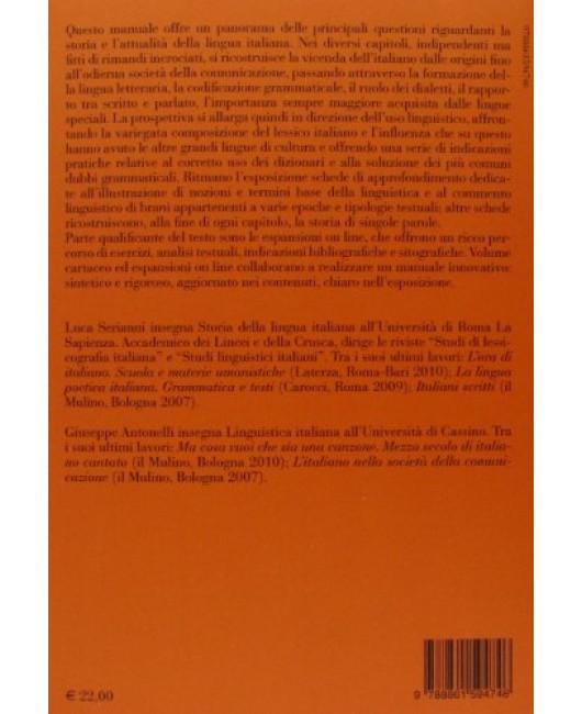 Manuale di linguistica italiana. Storia, attualità, grammatica